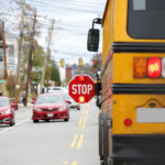Hit-and-run with school bus in New York